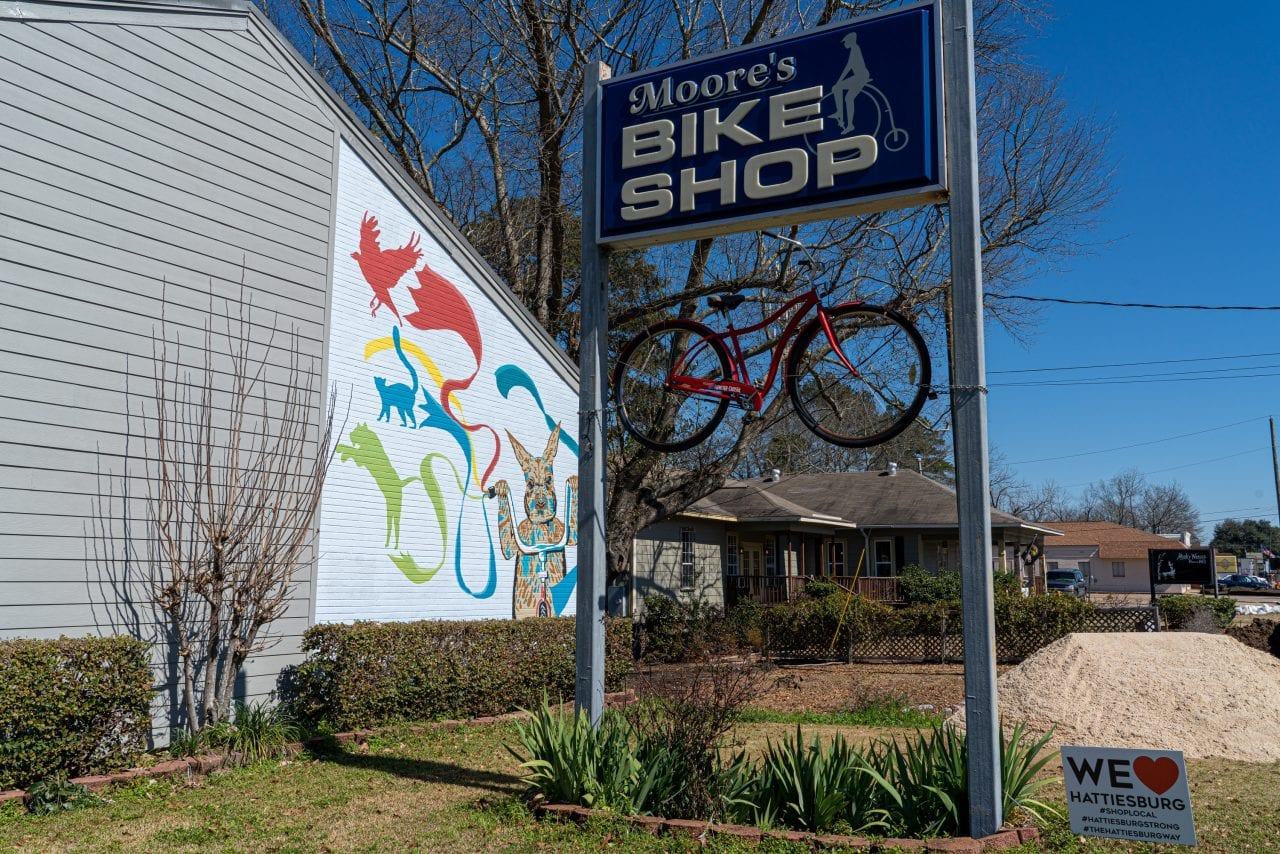 picture of Moore Bicycle shop