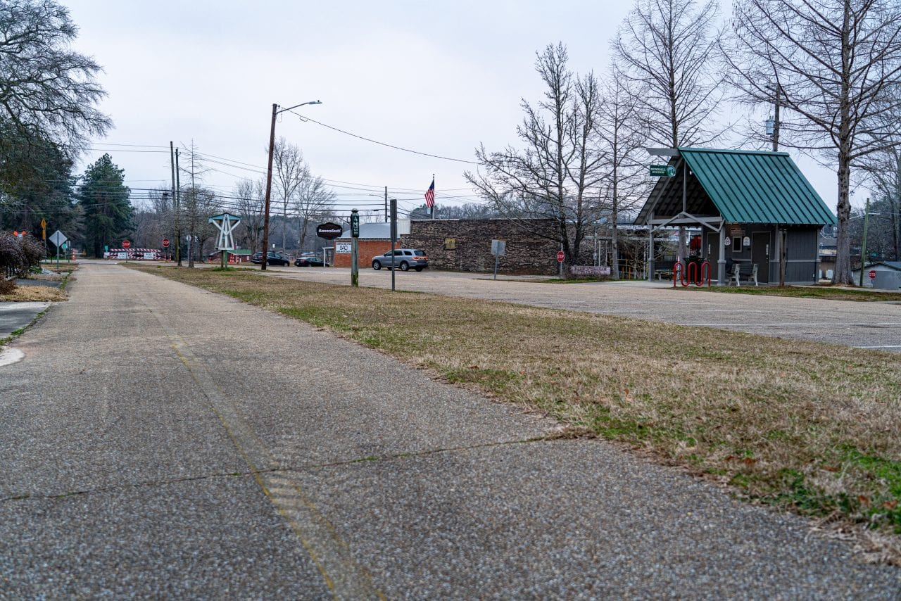 Longleaf Trace going through Sumrall Station