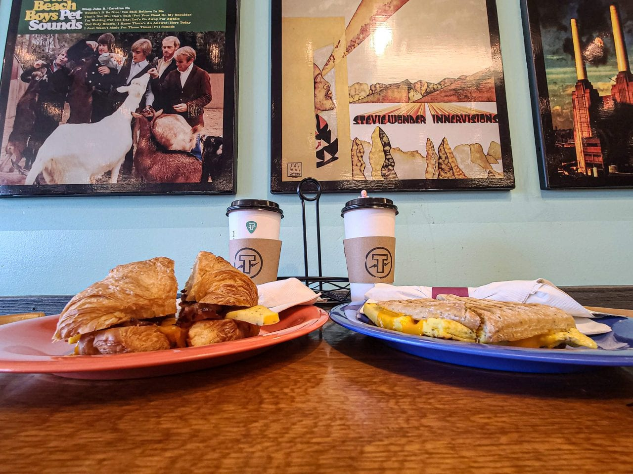 Breakfast at TBones Records and Cafe