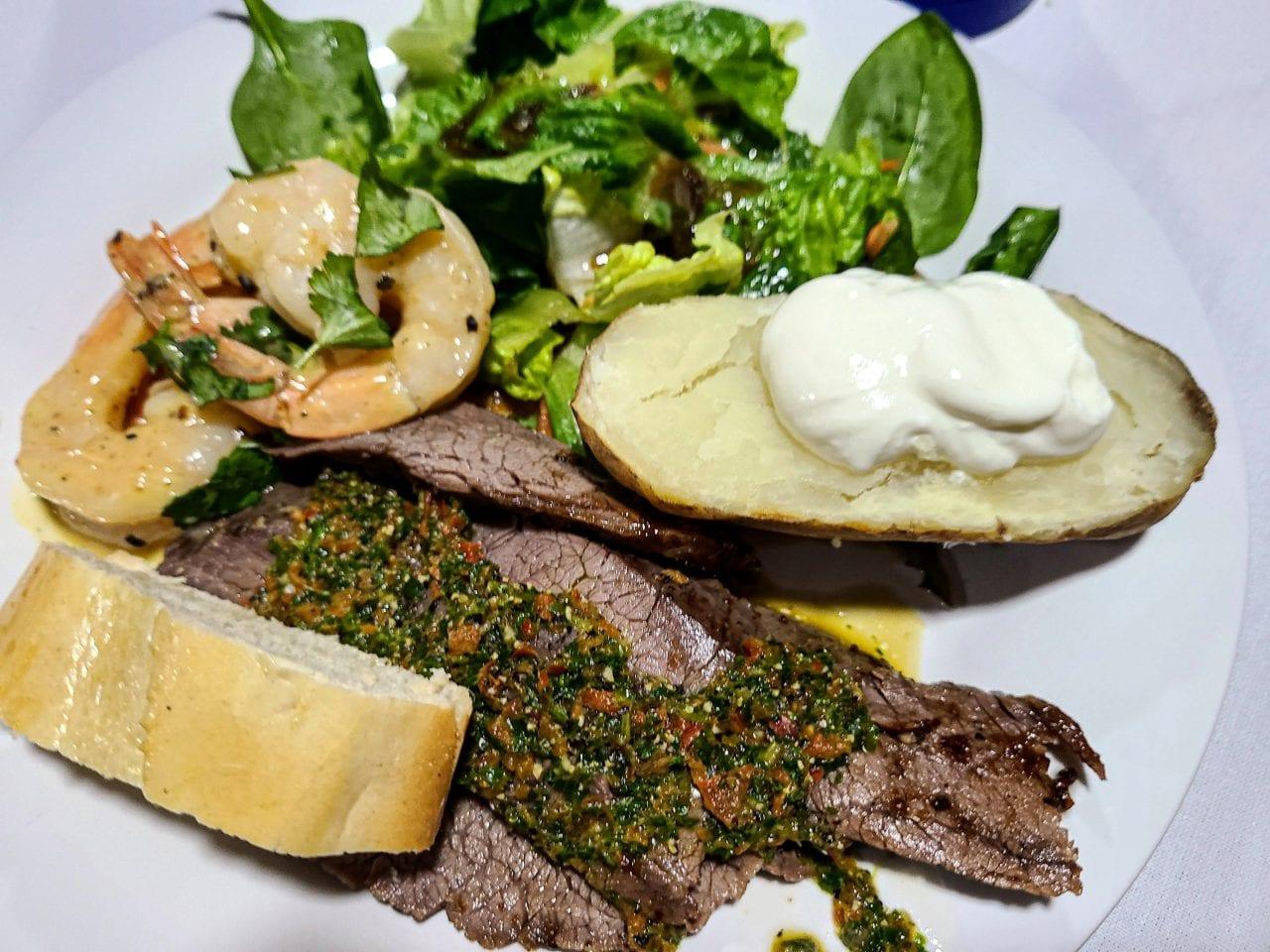Flavorful and bold Chimichurri flank steak