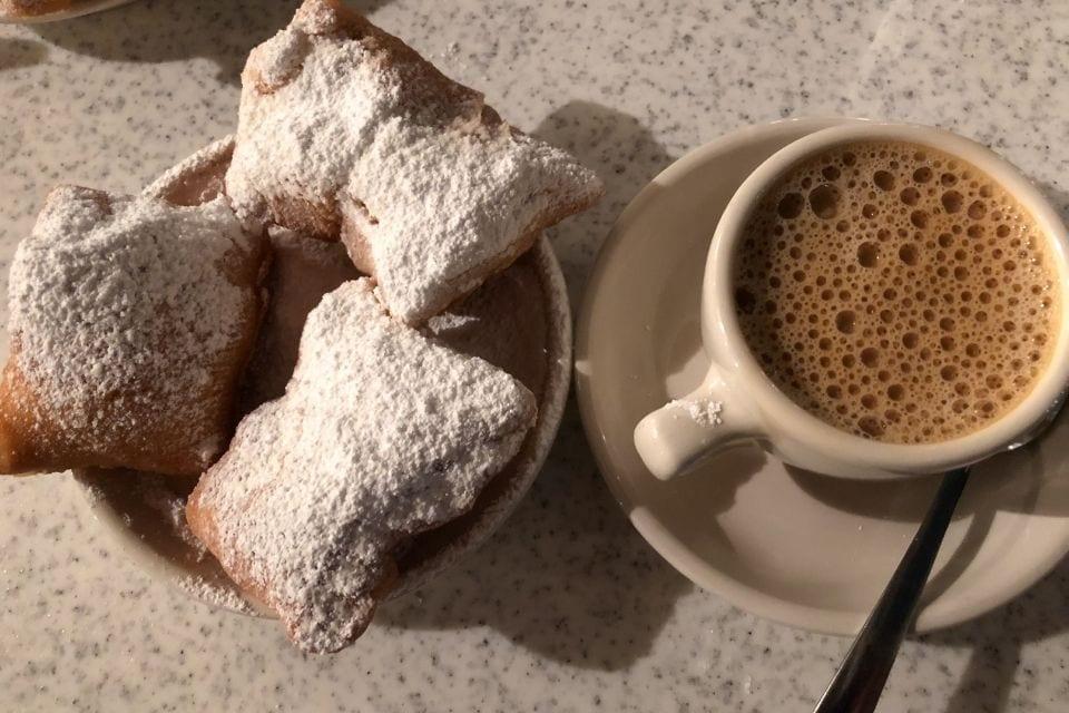 Beignets and coffee via Canva