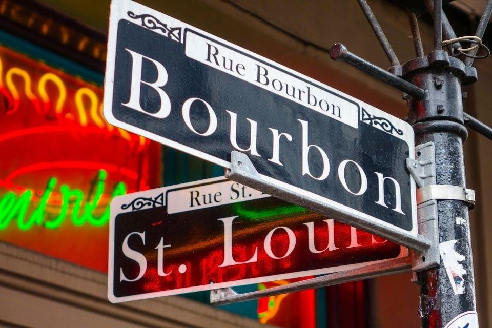 Bourbon St. via Canva