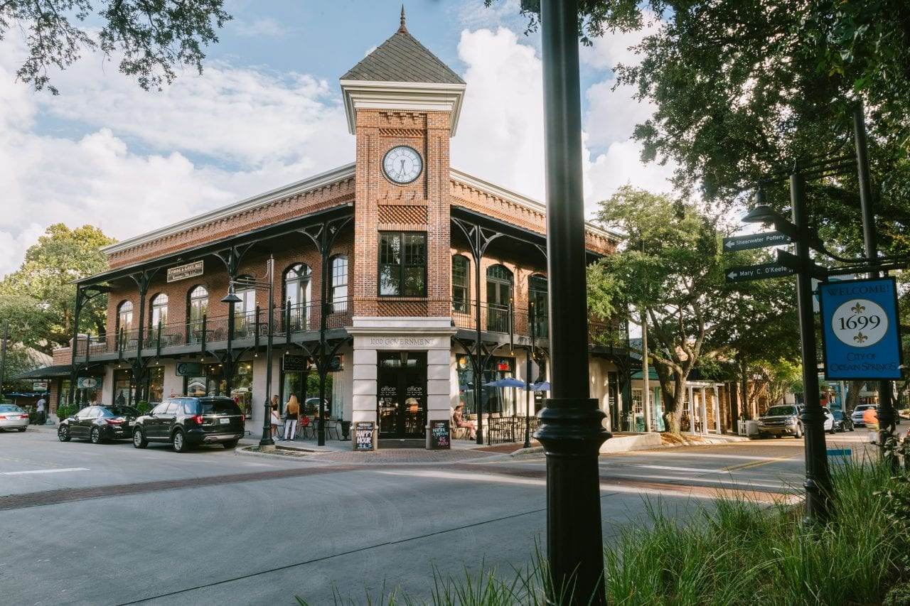 Downtown Ocean Springs - Credit Coastal Mississippi