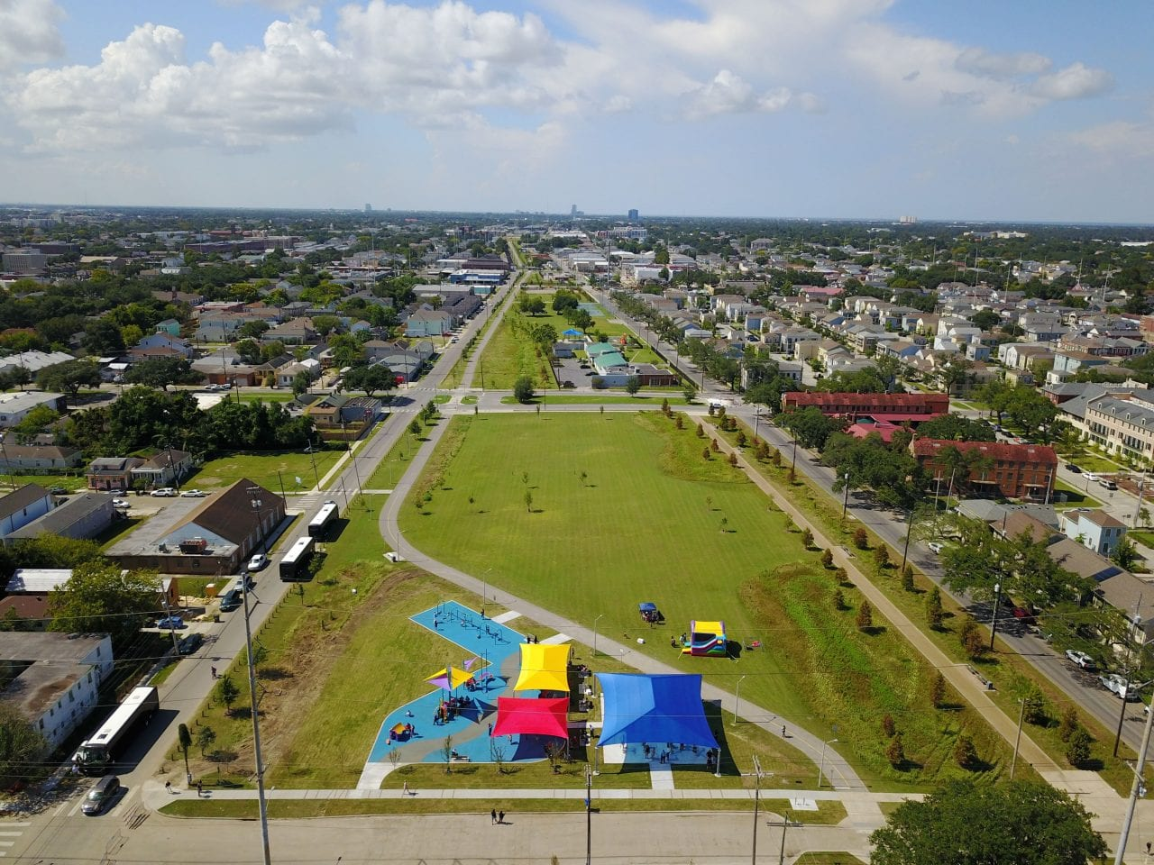 Lafitte Greenway by New Orleans Recreation Development Commission
