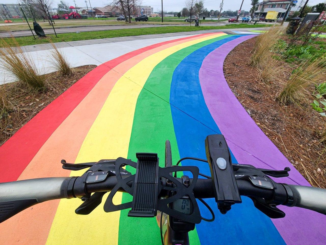 Lafitte Greenway Rainbow Trail