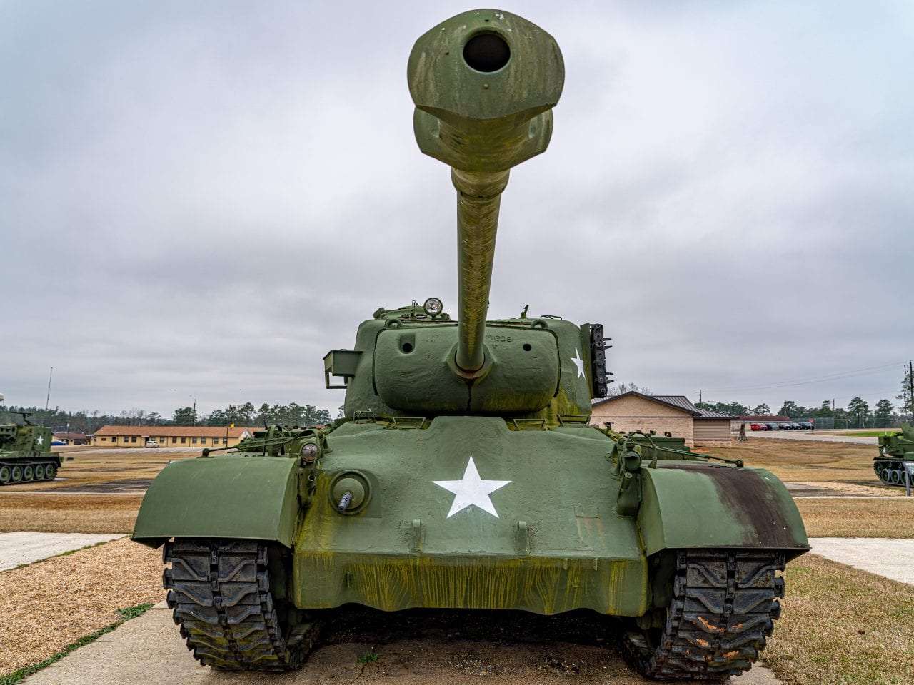 Come see a tank at the Mississippi Armed Forces Museum