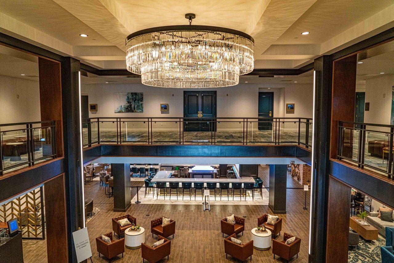 NOLA Marriott lobby