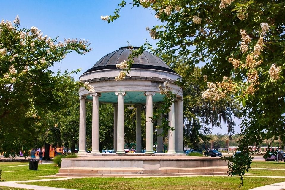 Popp Bandstand in New Orleans City Park via Canva