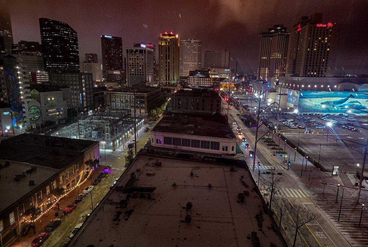 Skyline from NOLA Marriott