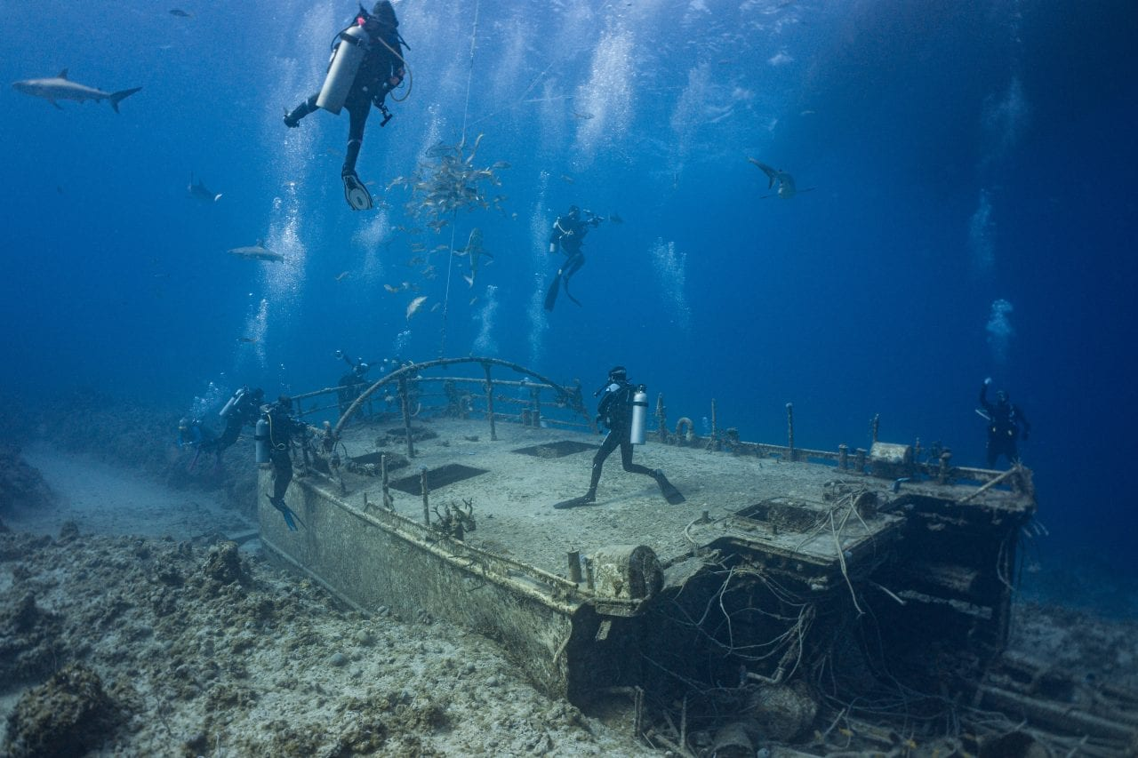 Austin Smith Wreck Diving