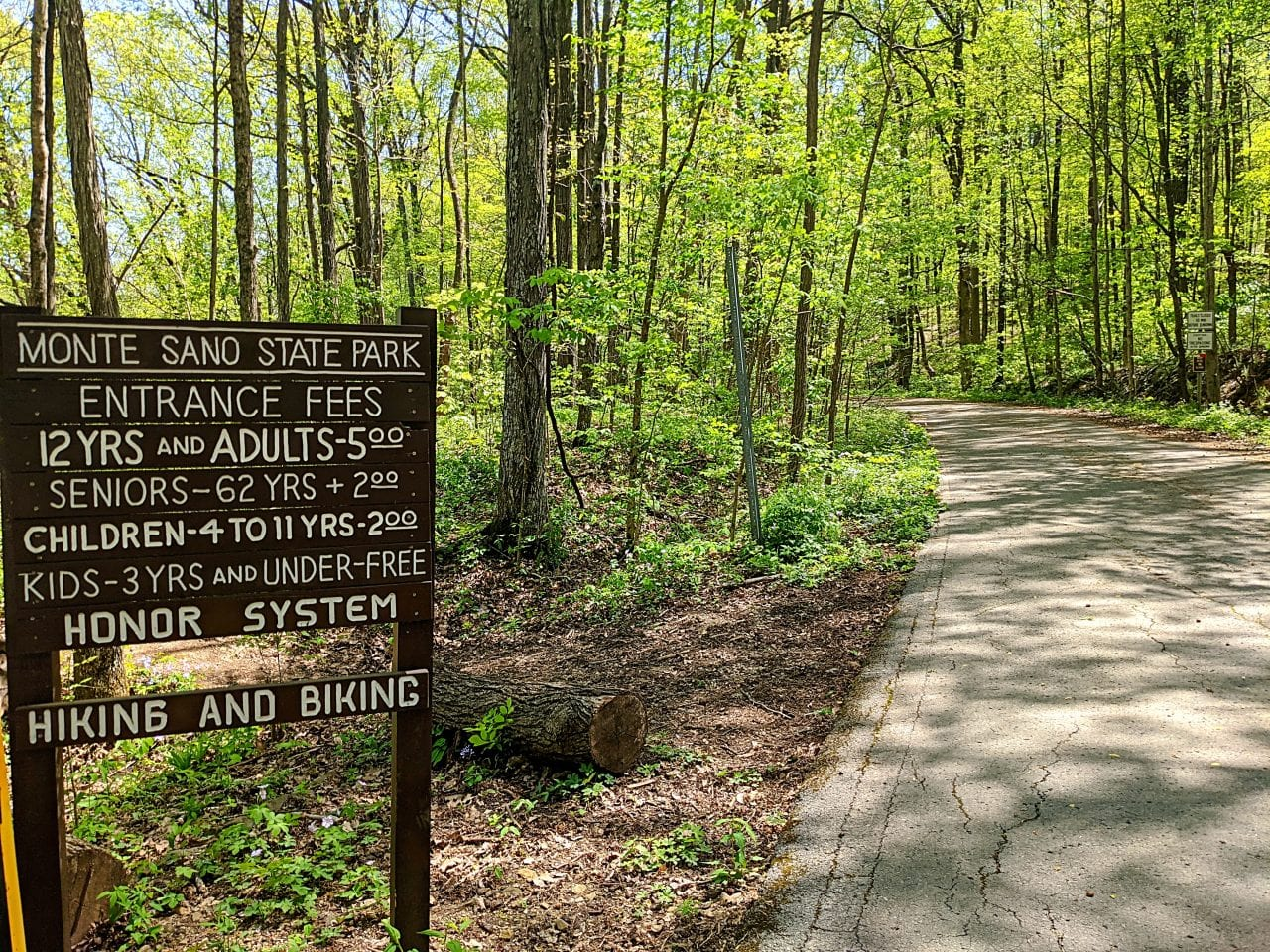 Bankhead Trail at Hairpin Turn, the backside of Cold Springs Nature Preserve