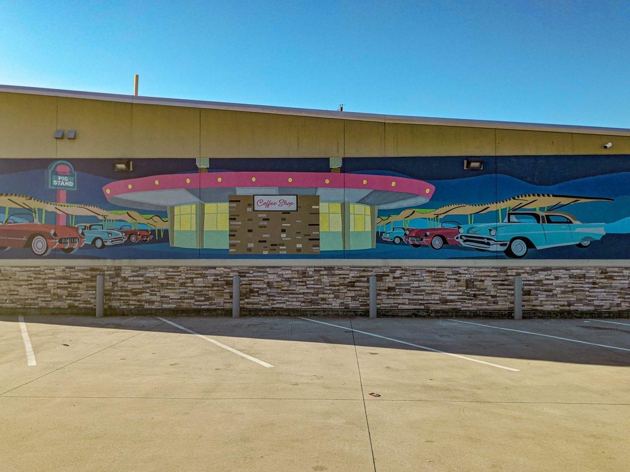 Calder Ave murals
