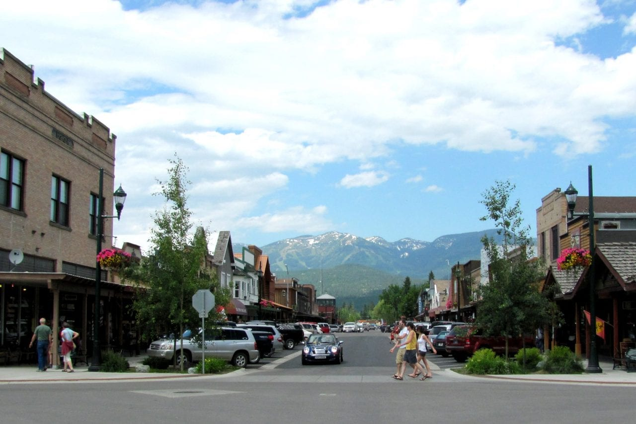 Downtown Whitefish, MT by Ted via Flickr