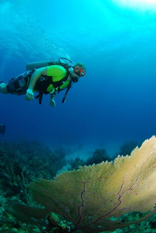 Ed scuba diving Nassau Bahamas
