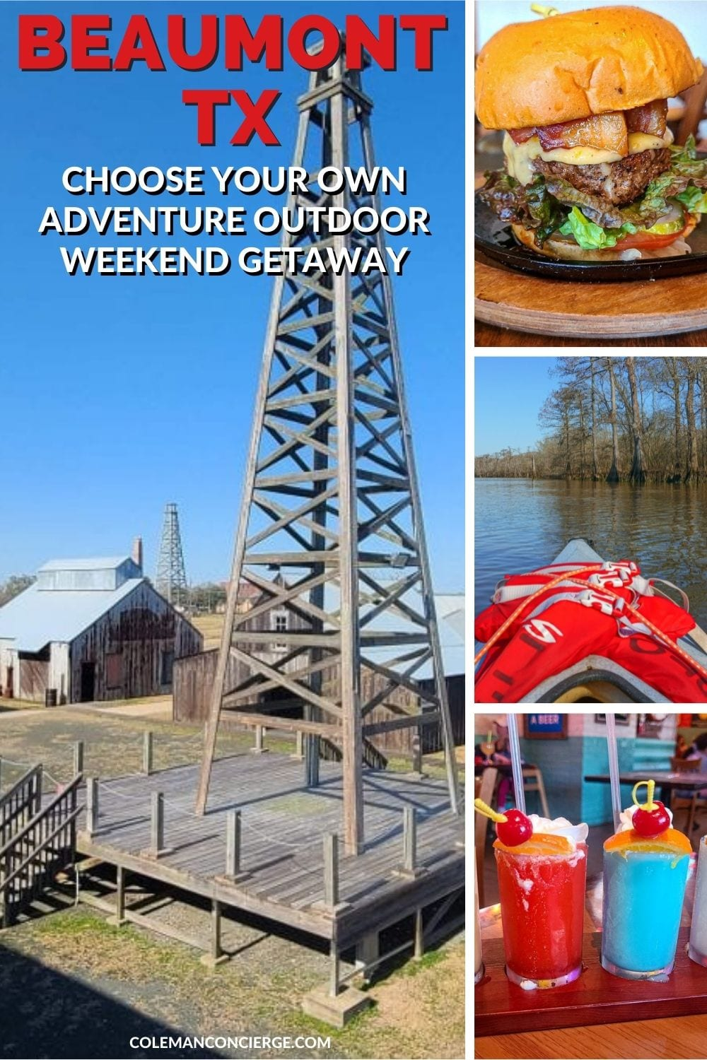 Food and sights of Beaumont texas