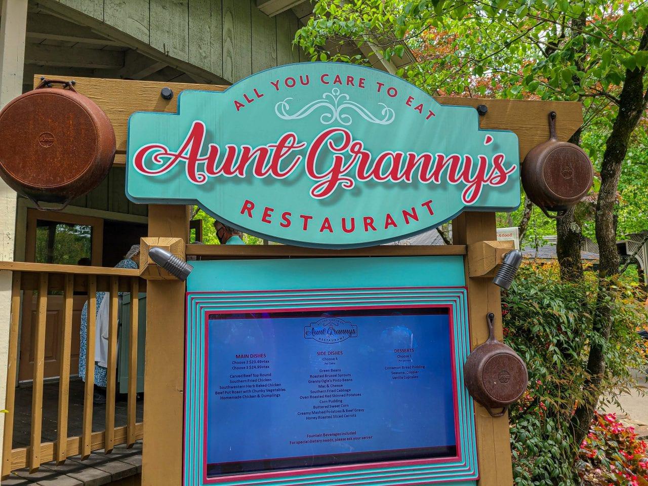 Aunt Granny's Buffet