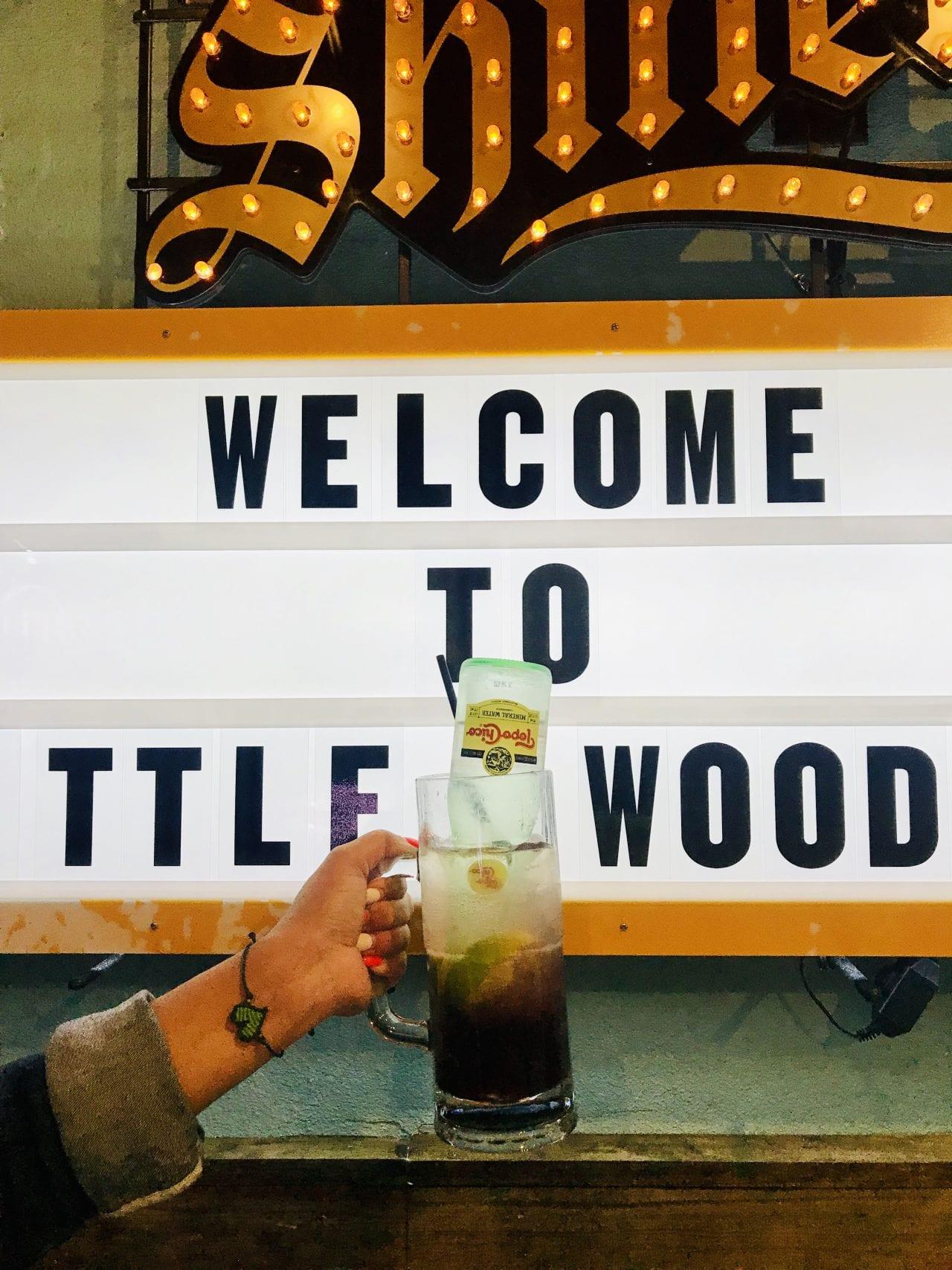 Little Woodrow's drink via Lauren Monitz @TheDownLo