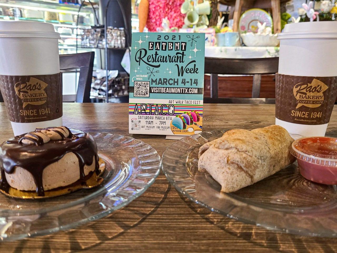 Breakfast at Rao's Bakery