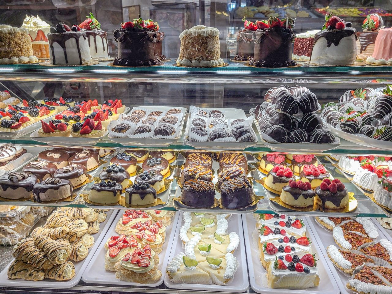 Rao's Bakery desert counter