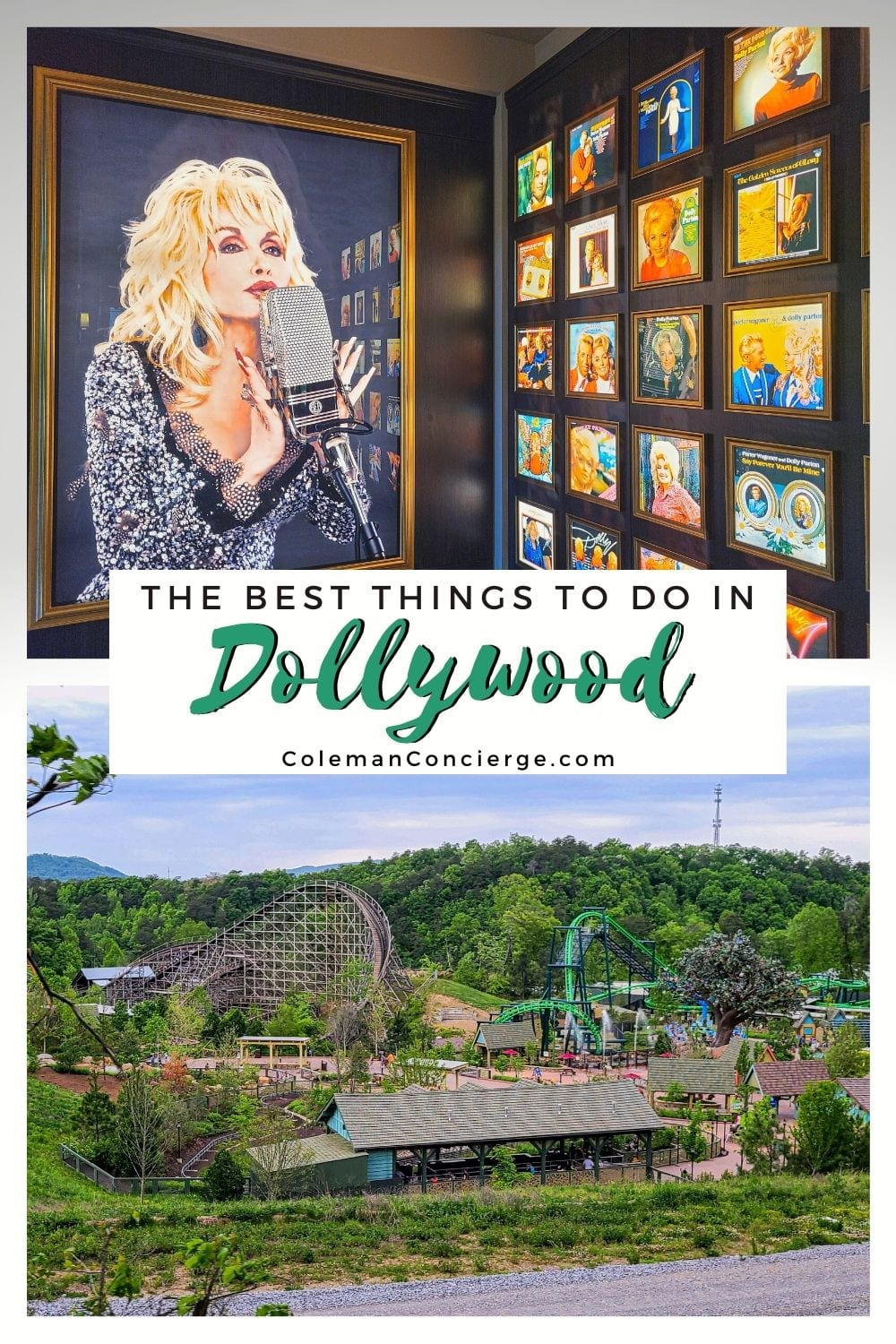Image of Dolly Parton and Dollywood