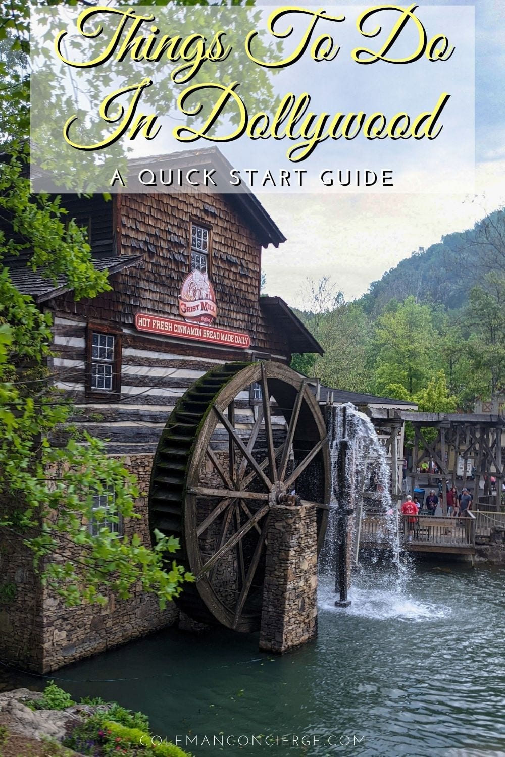 Image of the Grist Mill in Dollywood