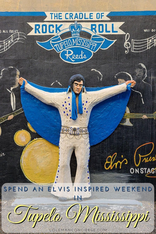 Elvis public art Tupelo
