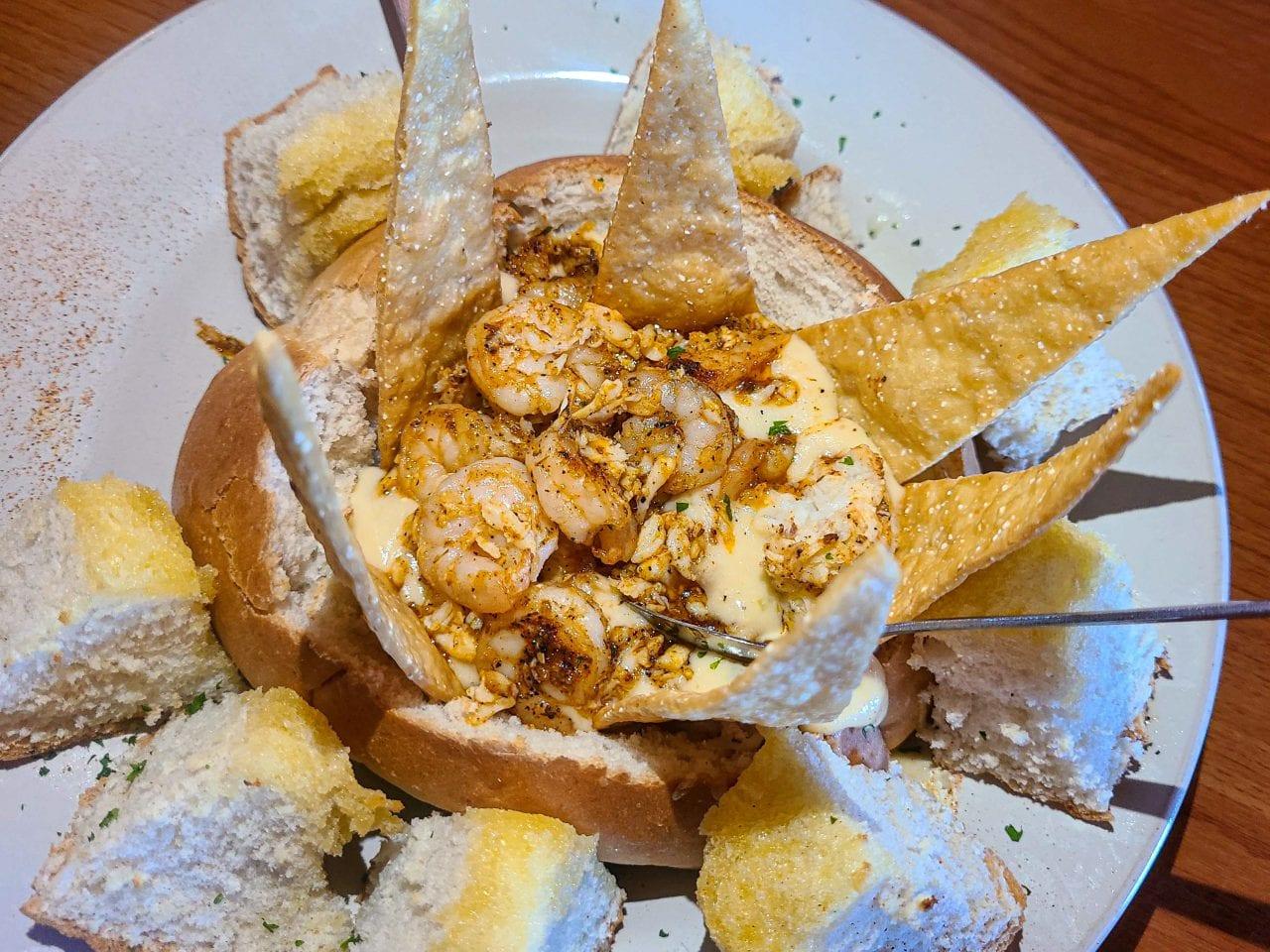Tia Juanita's shrimp and crab dip