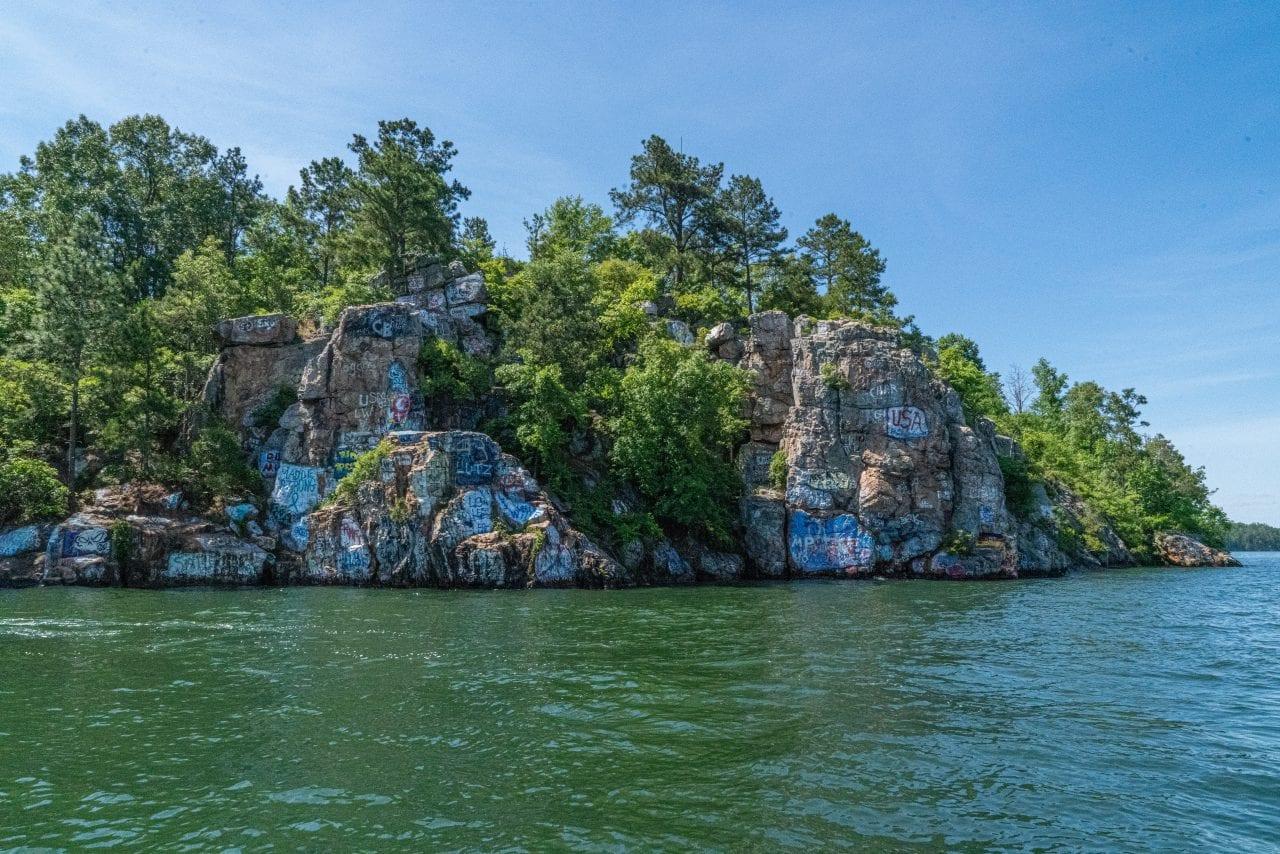 Chimney Rock on Lake Martin