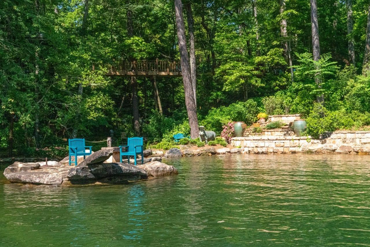 Jim Scott Gardens Lake Martin