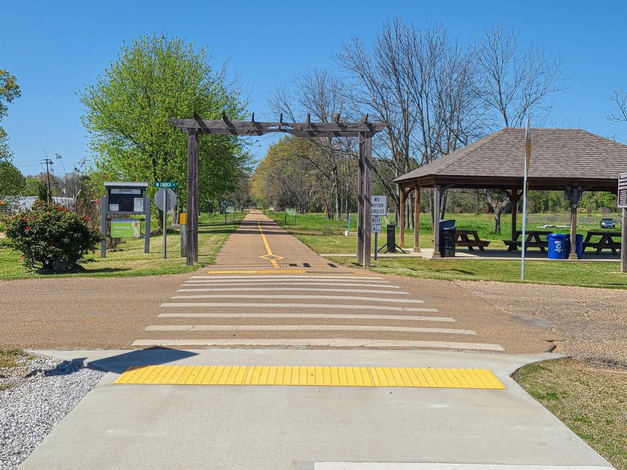 Tanglefoot Trail Gateway in Houston