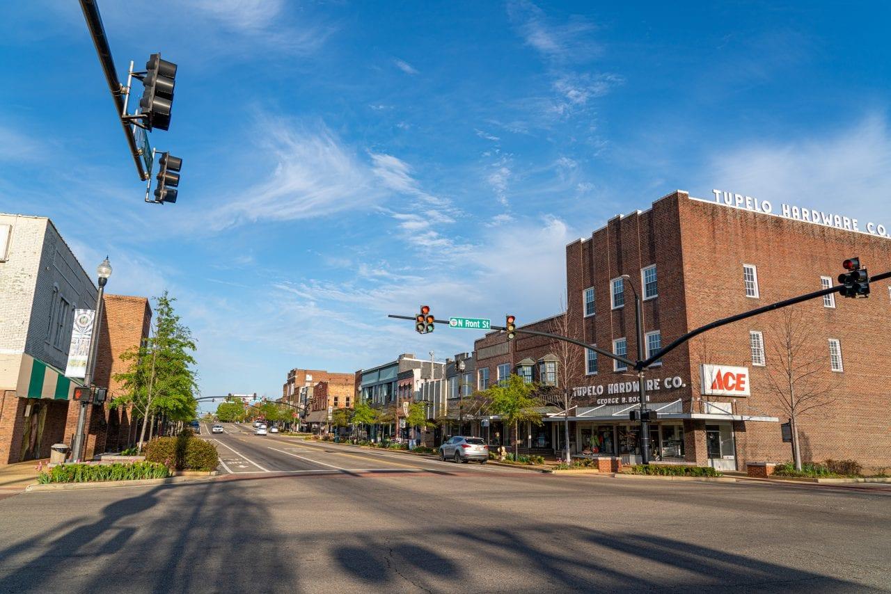 Downtown Tupelo / Hardware Store