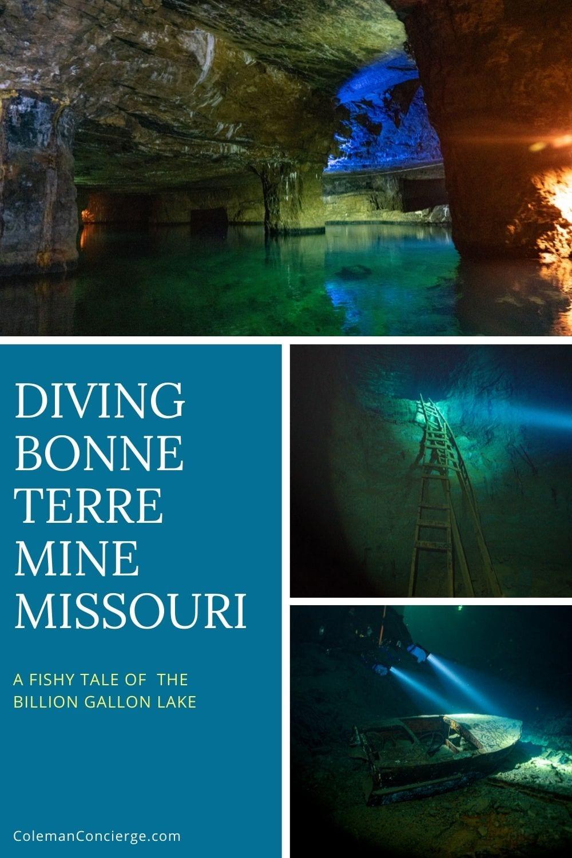 Diving Bonne Terre Mine