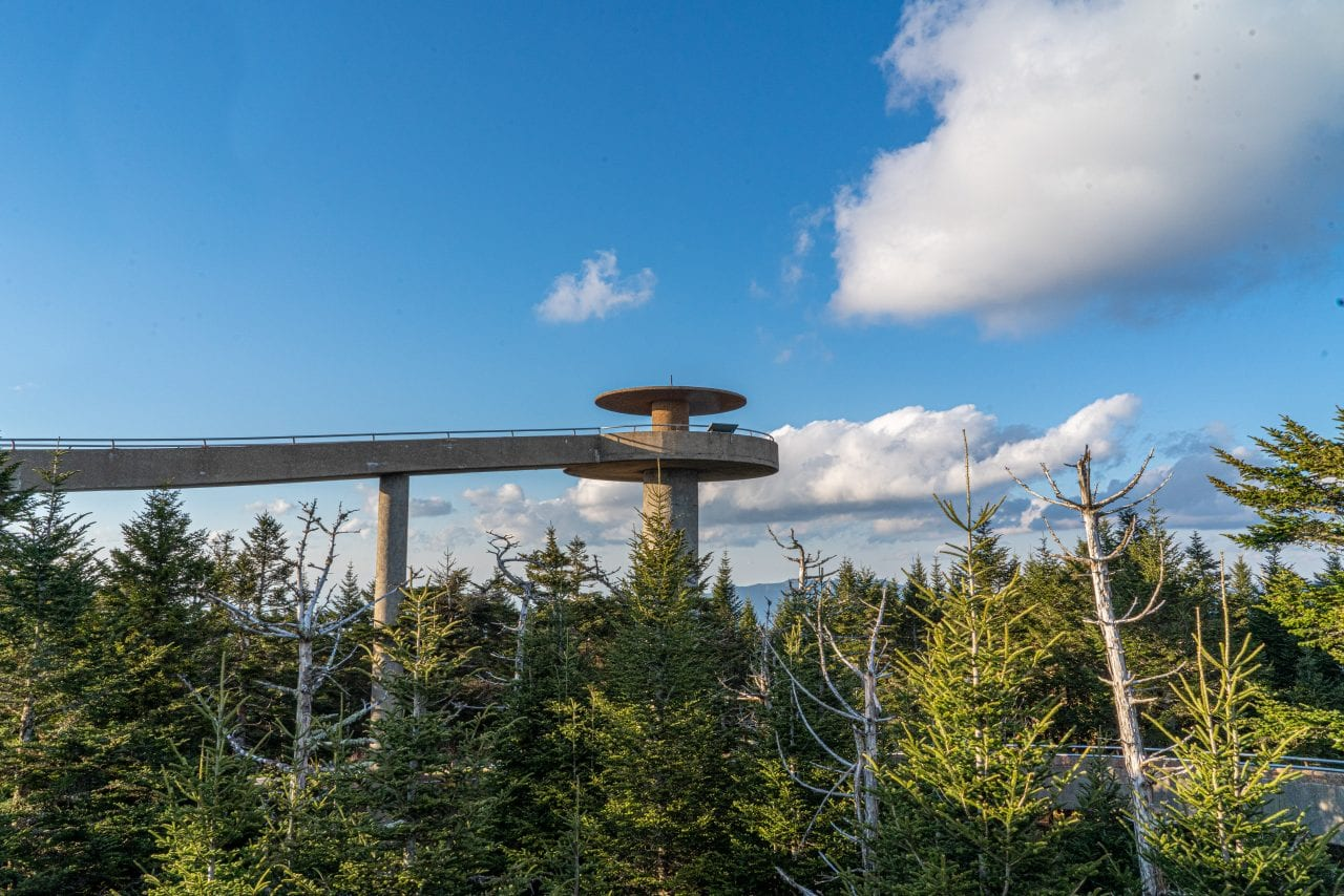 Clingmans Dome Observation Tower