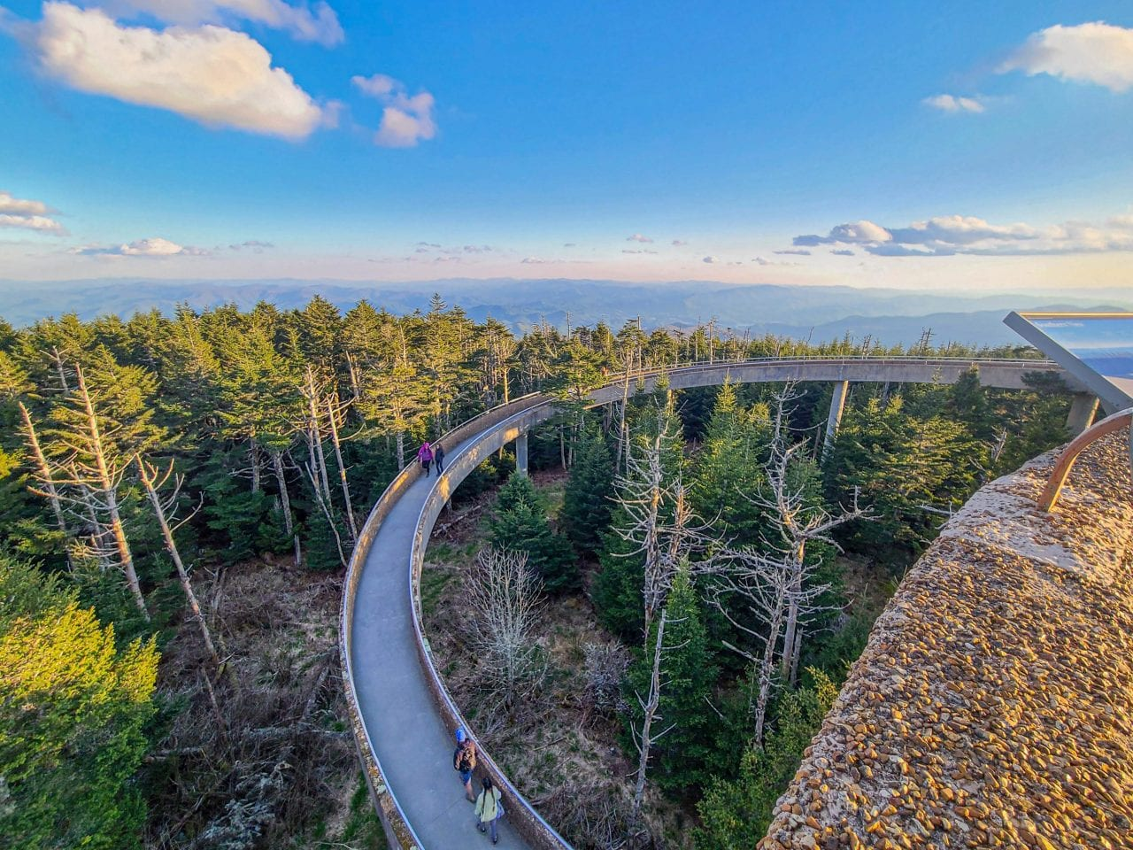 View from the Clingmans Dome observation tower