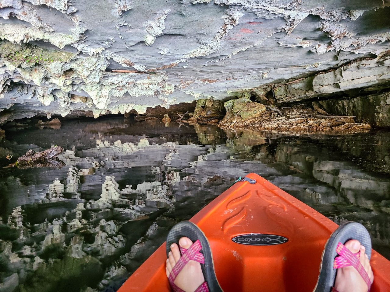 Kayak Coon Bay- Two Caves
