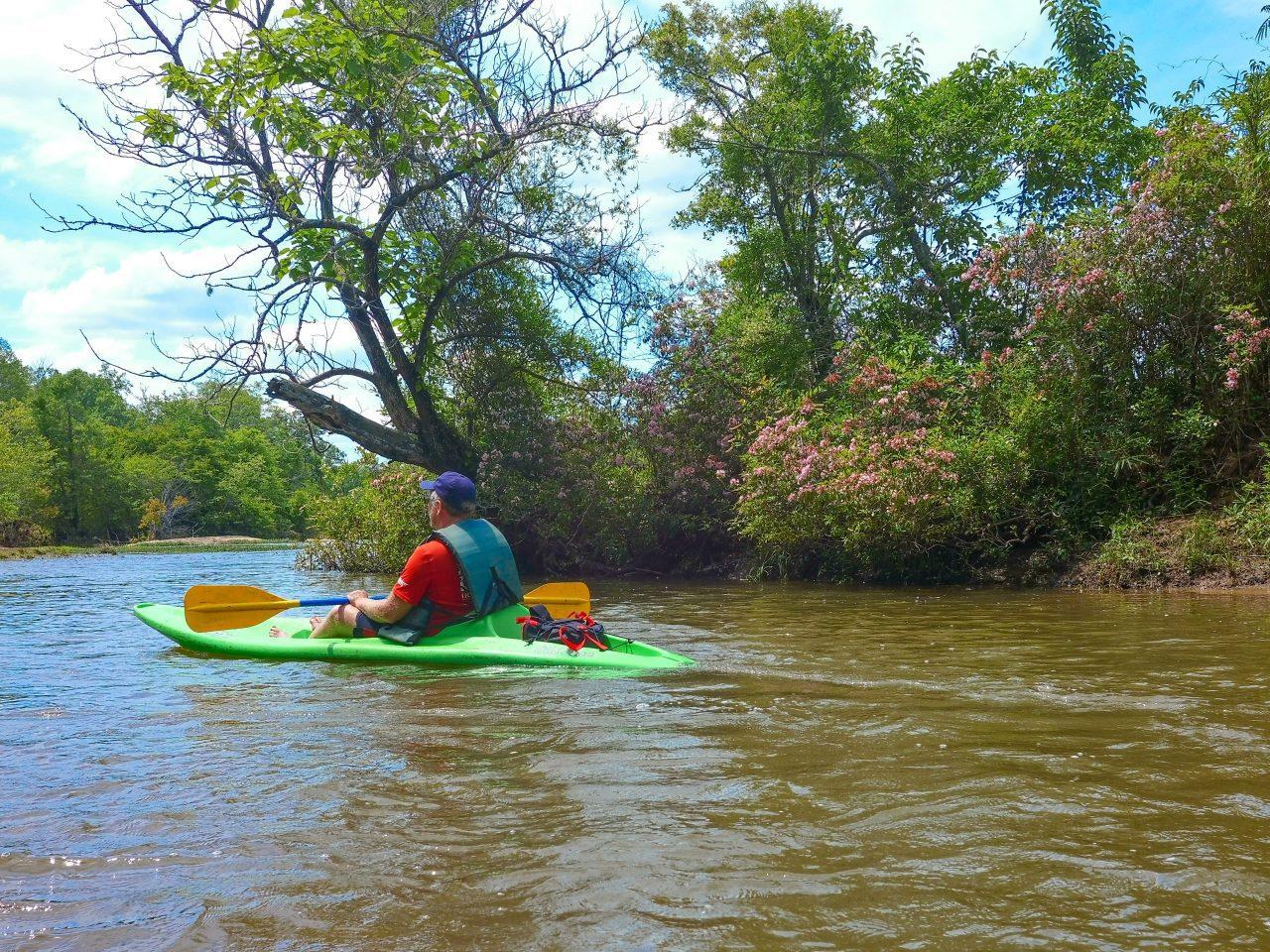 Ed Kayaking the Tallapoosa River