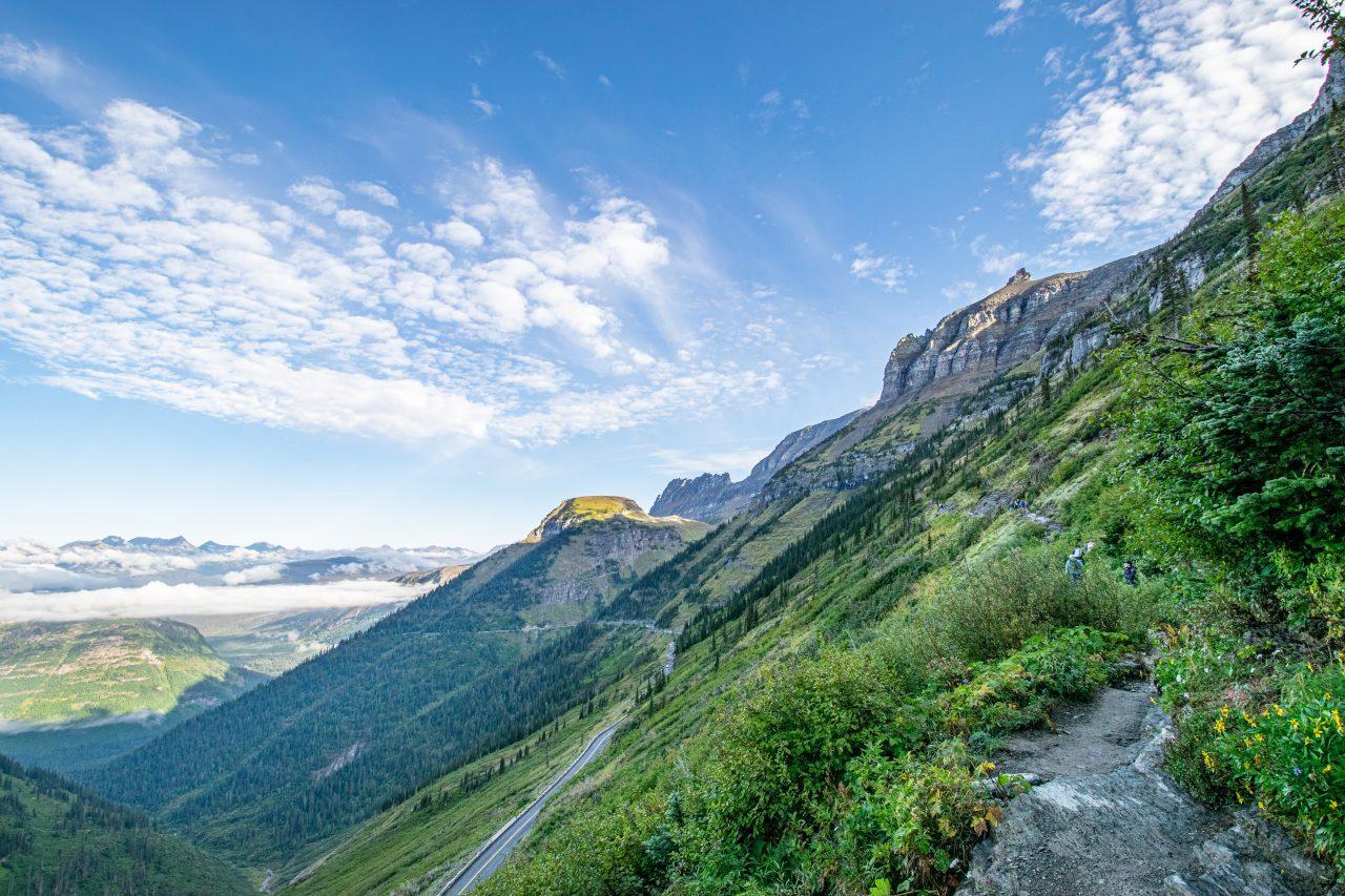 Highline Trail Glacier National Park-11