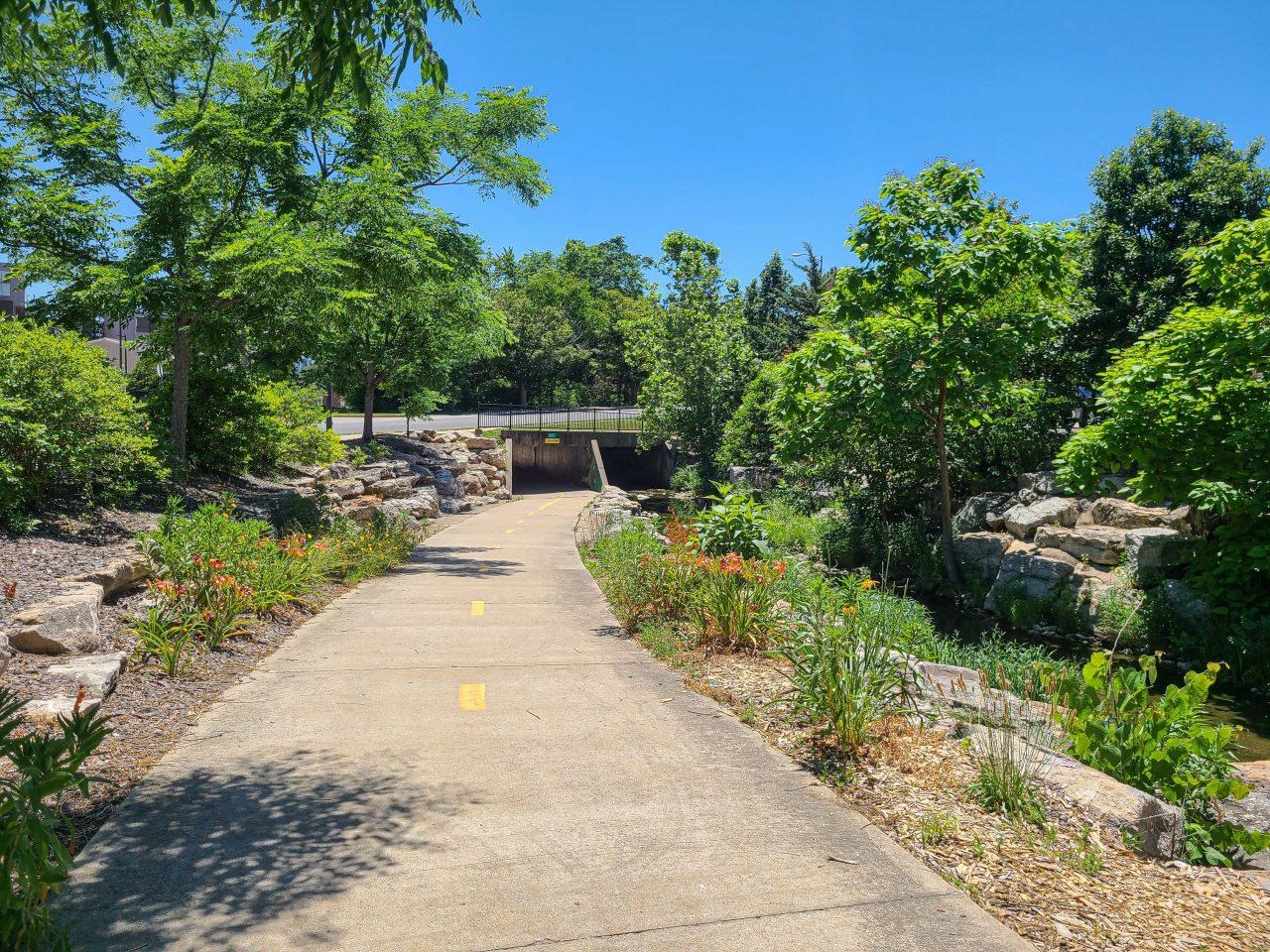 MKT Trail - Flat Branch Park