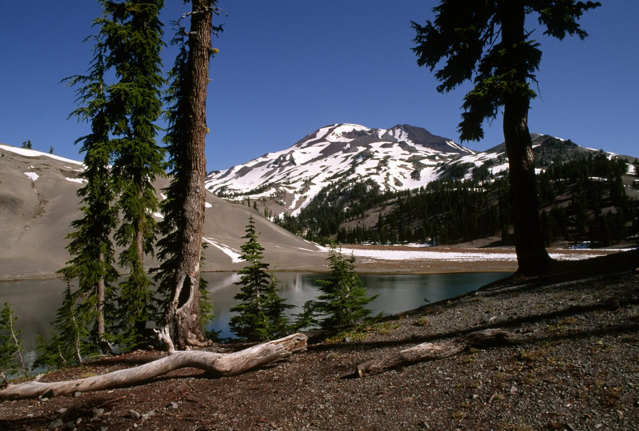 Moraine Lake South Sister, Deschutes National Forest
