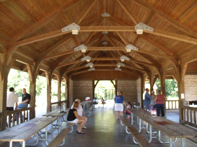 Ha Ha Tonka picnic shelter