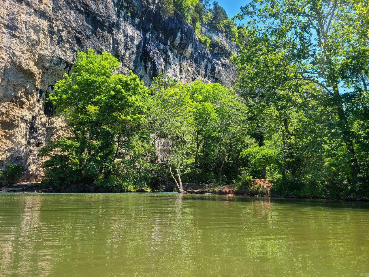 Kayaking Ha Ha Tonka