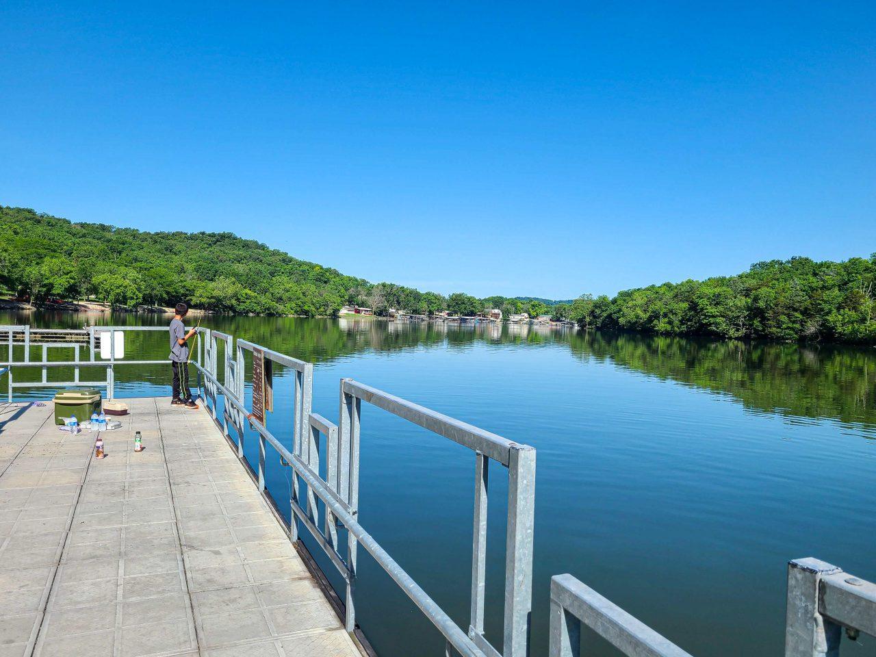 Ha Ha Tonka State Park Missouri- - public boat dock