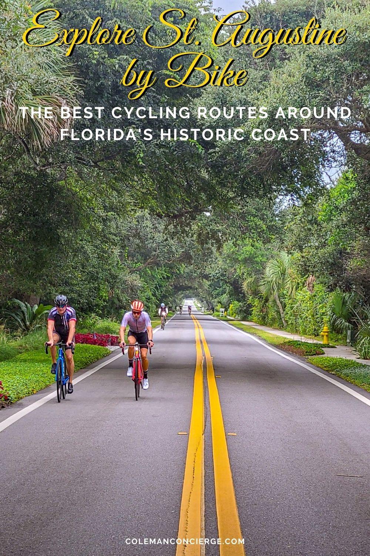 Biking near St Augustine Florida